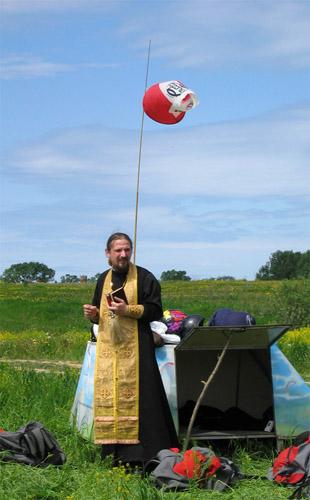 Святой отец и колдун